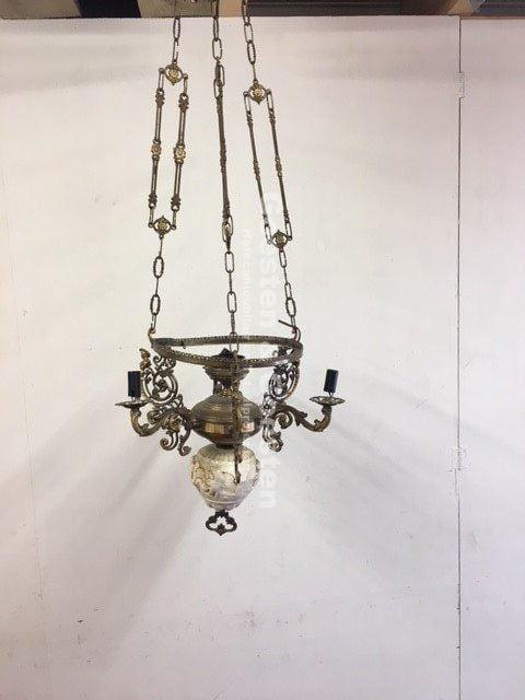 Gebruikte Vintage lamp V015