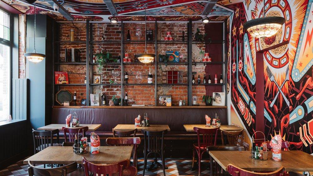 Bavet restaurant horecameubilair